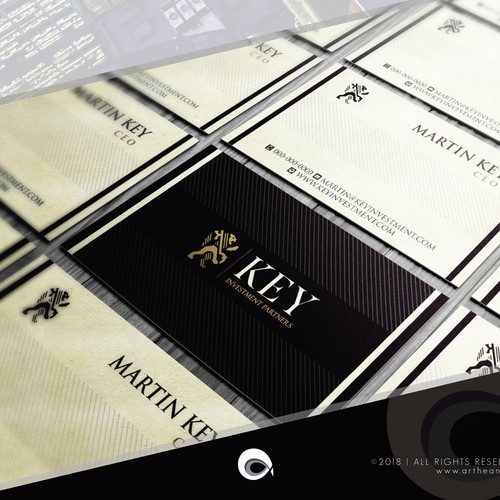 Business Card for Investment Mgmt Company