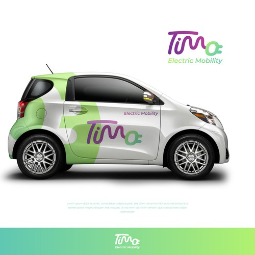 TIMO ELECTRIC MOBILITY LOGO DESIGN