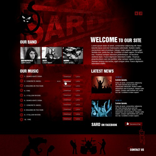New website design wanted for sard.ch