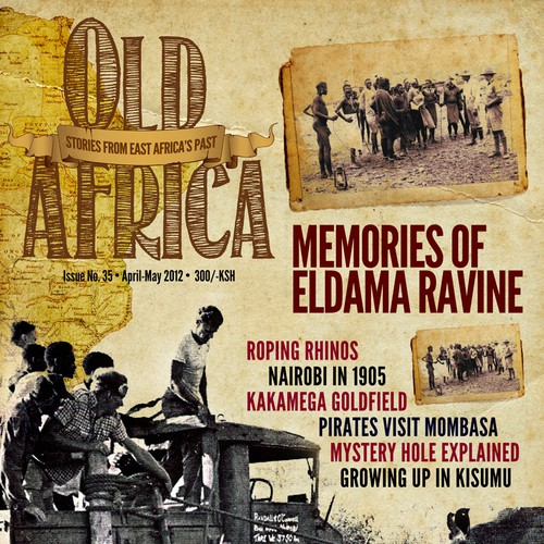 Old Africa magazine cover