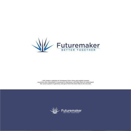 https://99designs.com/logo-design/contests/futuremaker-insurance-broker-frankfurt-logo-show-customer-he-824486/entries/8