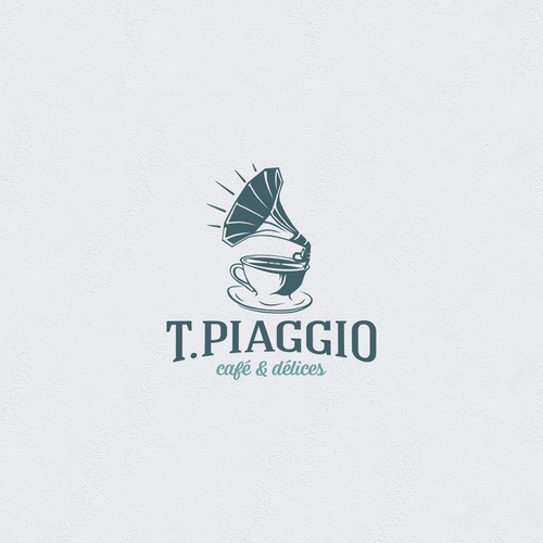 Logo for a cafe.