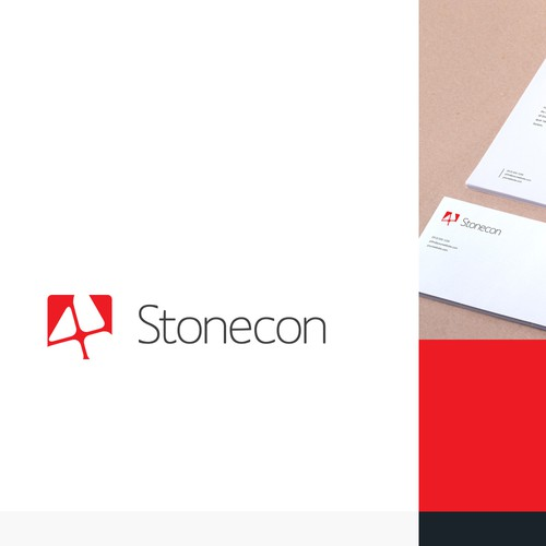 Confident logo for Construction company