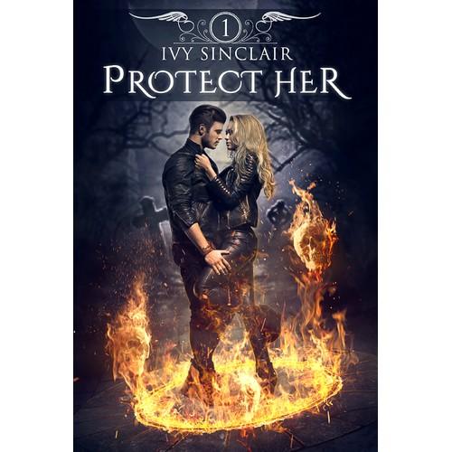 Paranormal Romance Suspense Cover Design