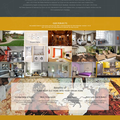 Home Remodeling Website