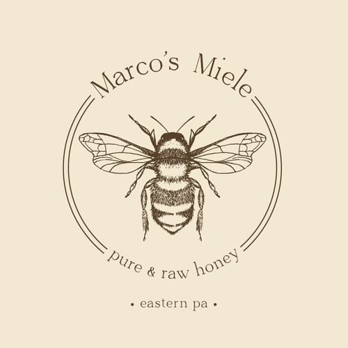 Classic and stylish logo for Beekeeper