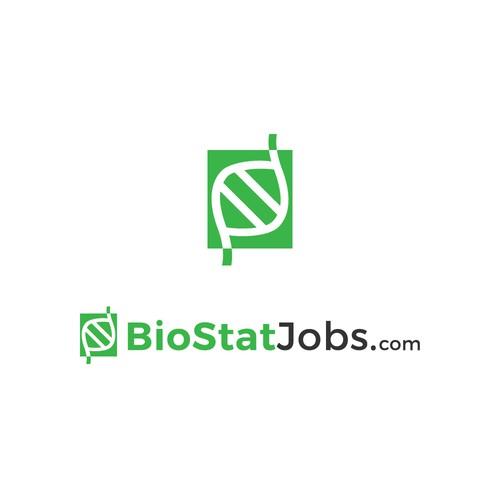 Logo concept for BioStatJobs.com