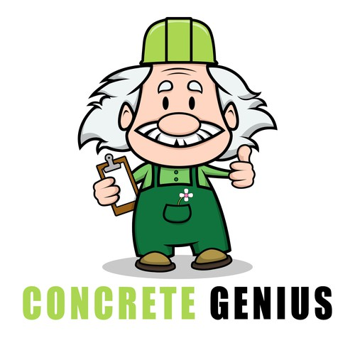 Fun Genius Avatar and Logo Needed For Concrete Franchise