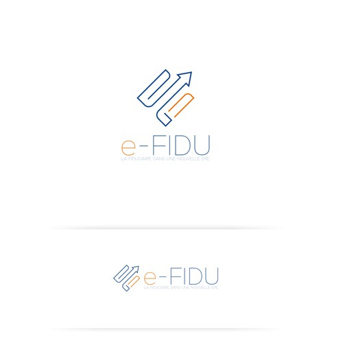 Logo concept for e-Fidu