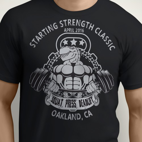 Starting Strength Classic T-shirt contest