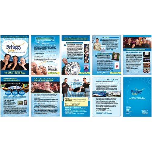 PDF Media Kit For - BeHappyForLife.Com