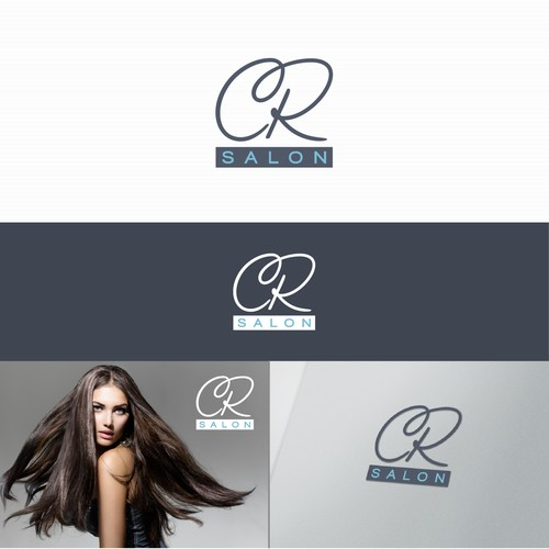 Logo for CR Salon