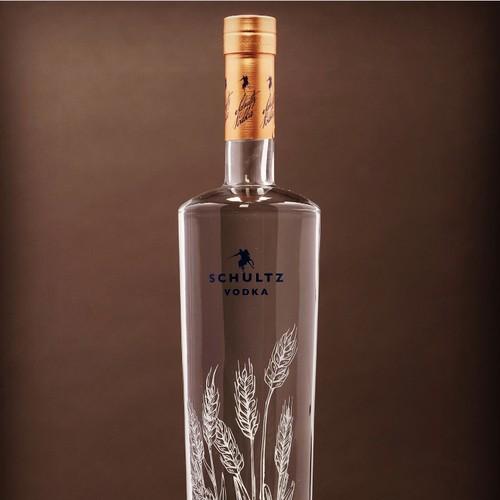 Schultz Vodka Spirits Design