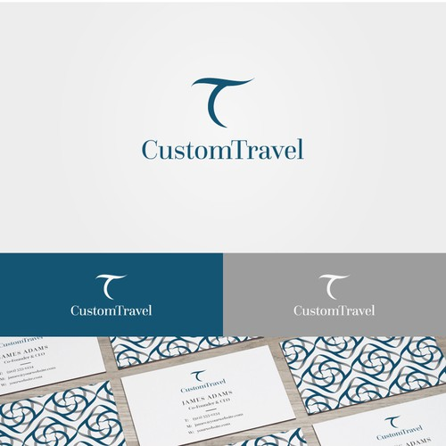 Logo design for a travel agency