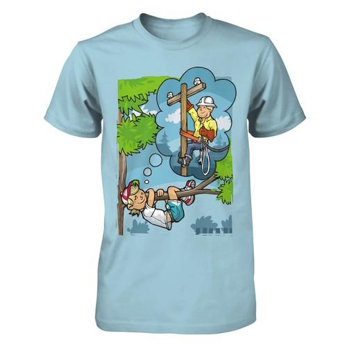 lineman t shirt