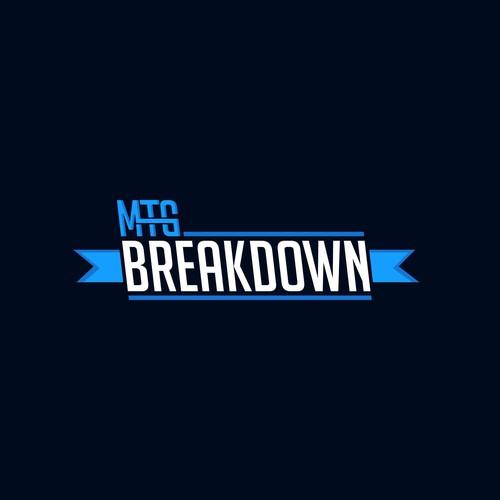 MTG BREAKDOWN LOGO CONTEST