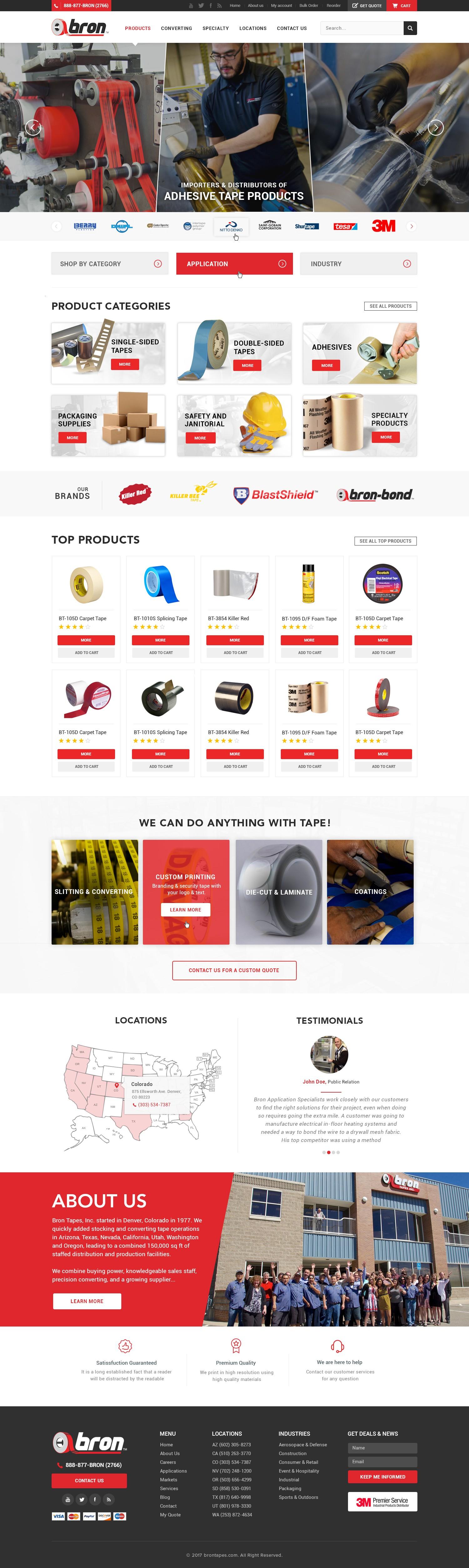 New Tape Store Website