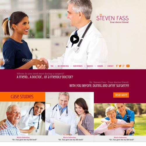 2 Page Web Design: Weight Loss Fass