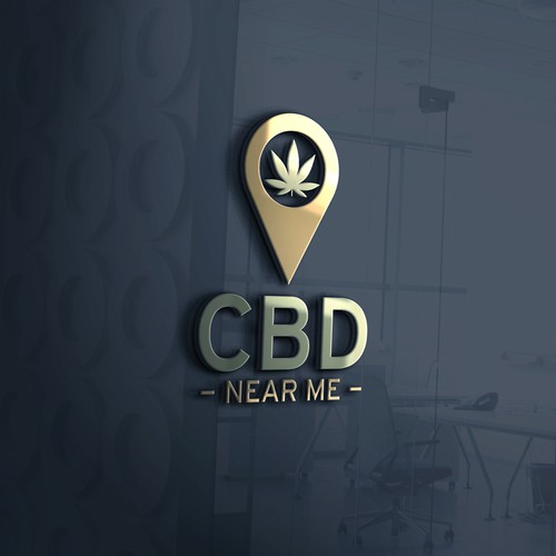 Bold logo concept for CBD