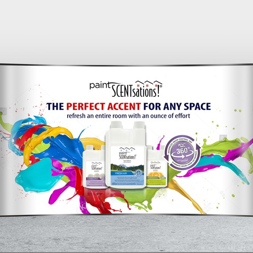 Trade Show Display for an Innovative Product