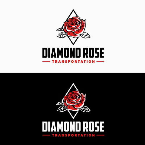 Diamond Rose Logo Design