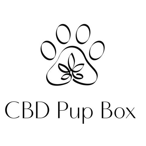 Logo mark concept for CBD Pup Box