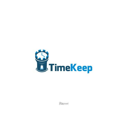Bold logo of Time Keep