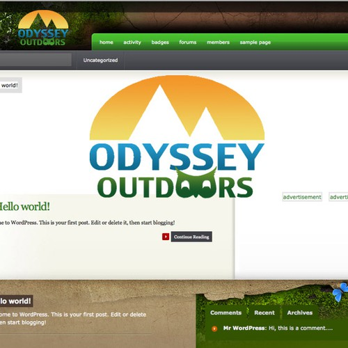 Help Odyssey Outdoors with a new logo