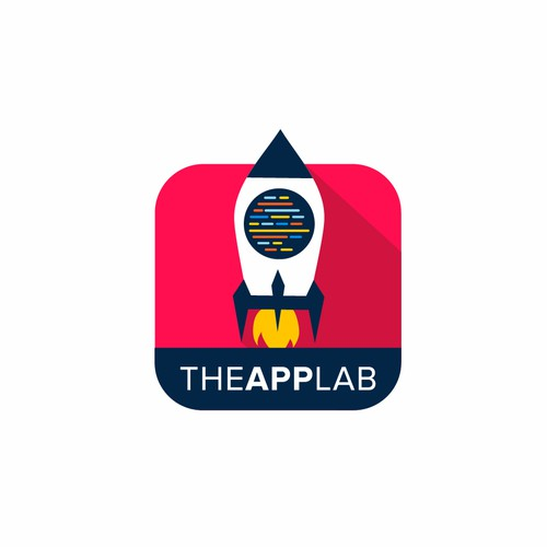 Theapplab logo concept for tech company