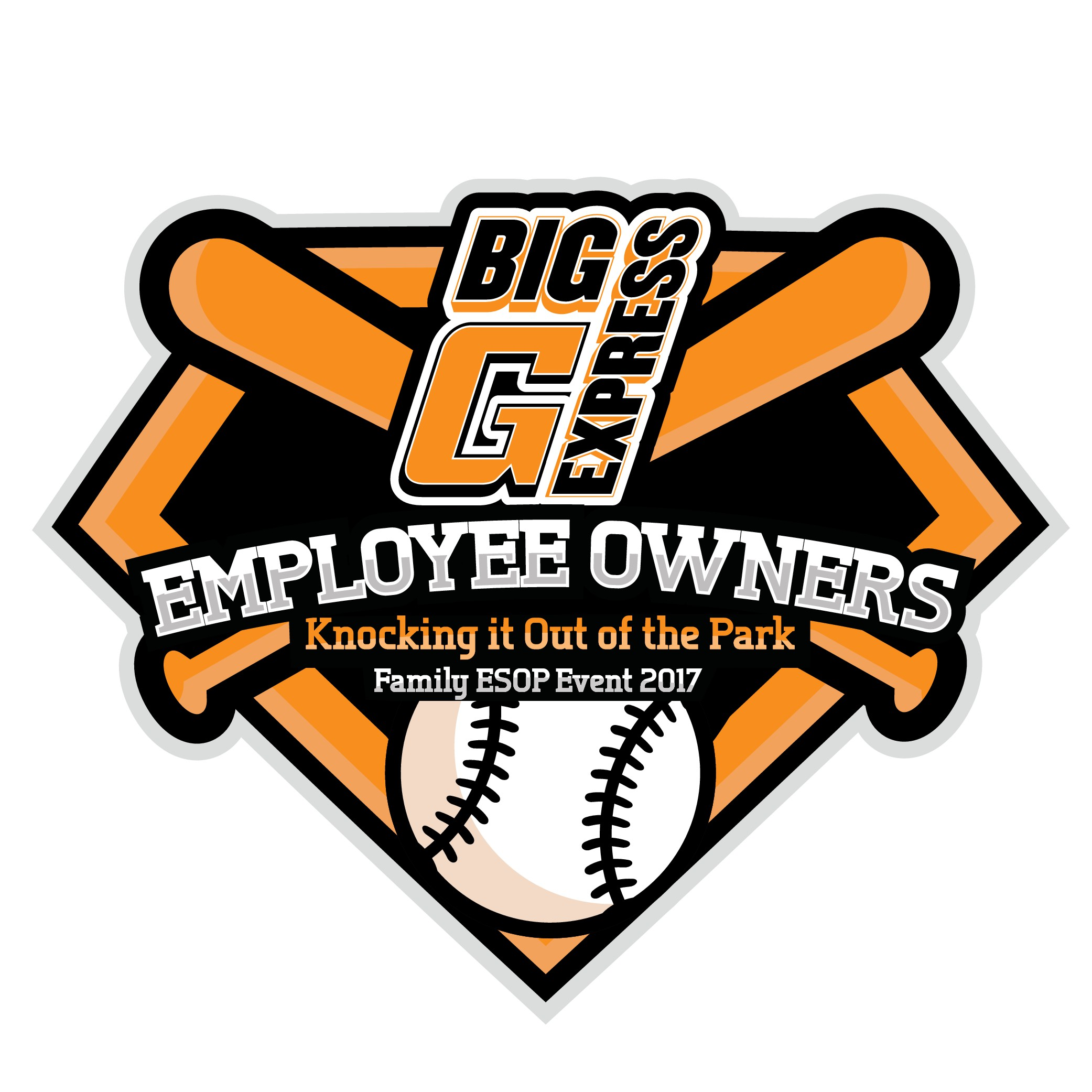 Tshirt design for trucking company family event at baseball game