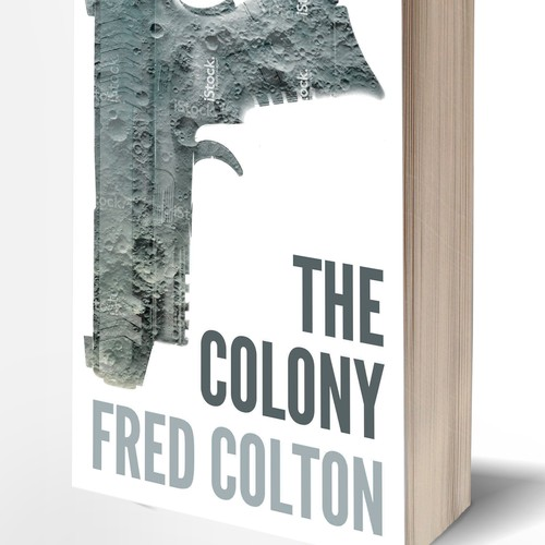 book cover for The Colony