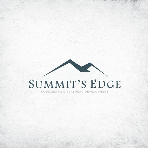 Create a unique logo for Summit's Edge Counseling & Personal Development