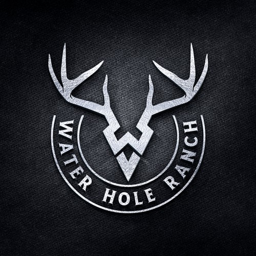 Water Hole Ranch logo design