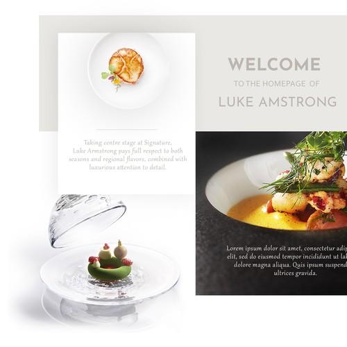 Luke Armstrong Chef