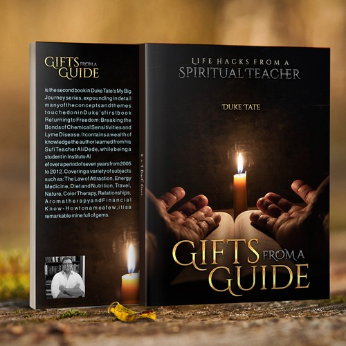 Creative Cover for Exciting New Spiritual Journey Book