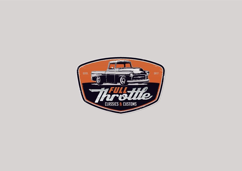 Full Throttle needs a powerful and unique logo to grow our business