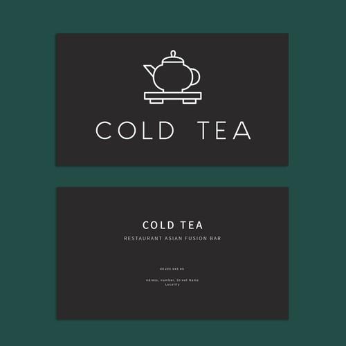 Business Card   Cold Tea