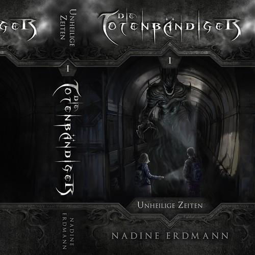 Die Totenbändiger Series Book Cover