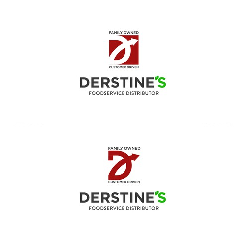 Logo for Derstine's Foodservice Distributor