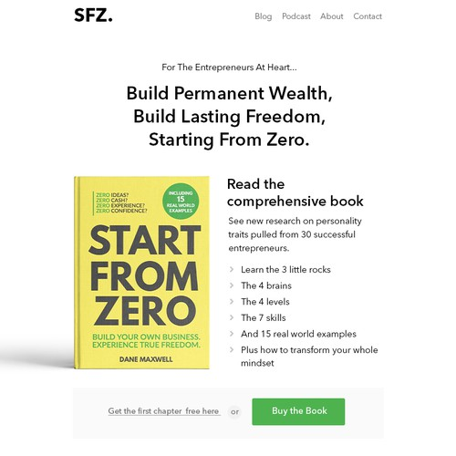 Start From Zero Website Design