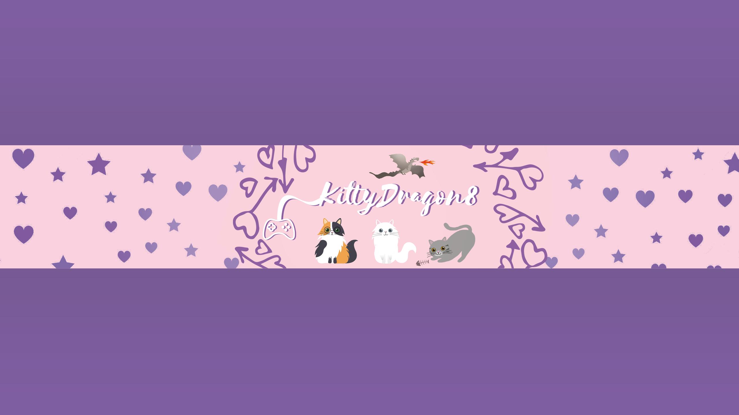 KittyDragon8 Youtube Banner