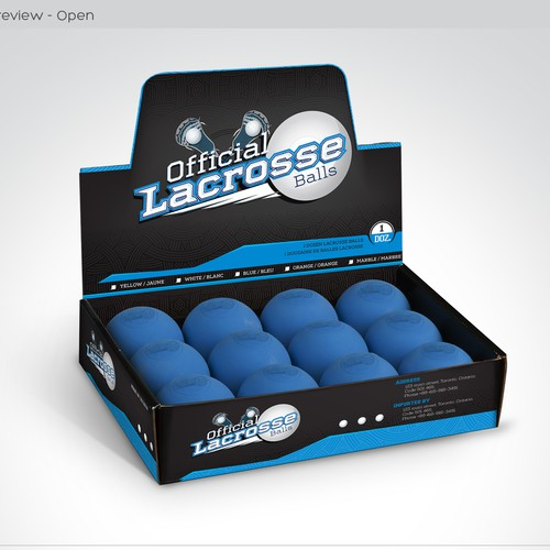 Design retail packaging for sports product