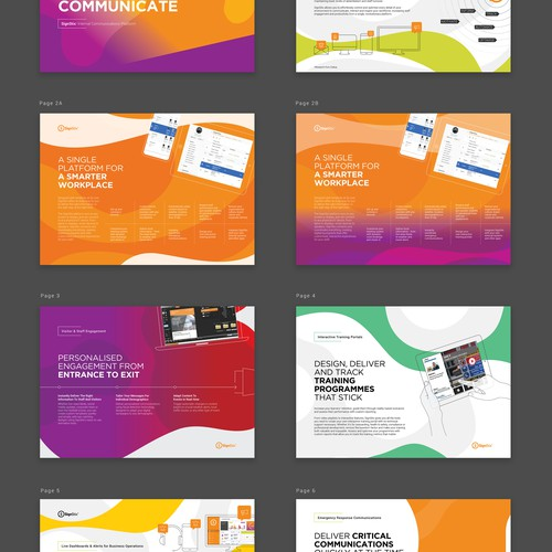 SignStix presentation brochure