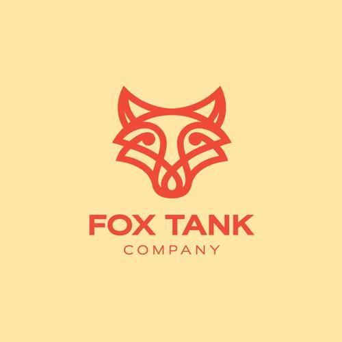 Bold logo for Fox Tank