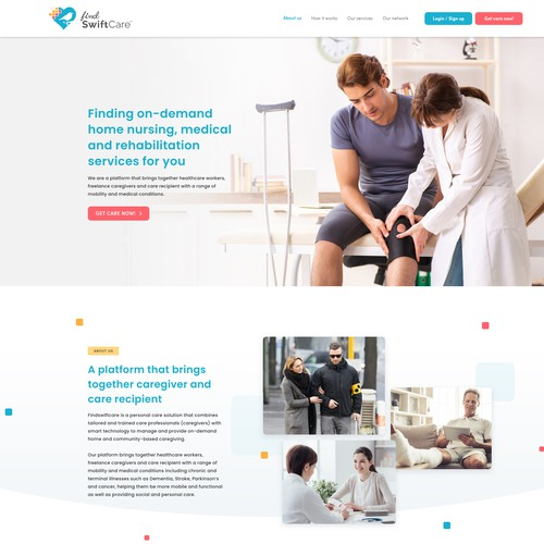 Website for Care giver
