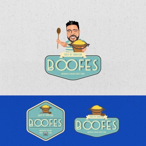 Street food logo design