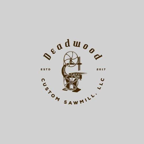 """Logo for Sawmill """"DeadWood"""""""