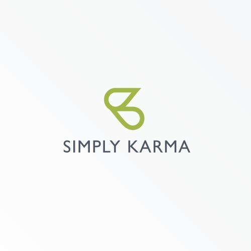 Bold Logo for Simply Karma