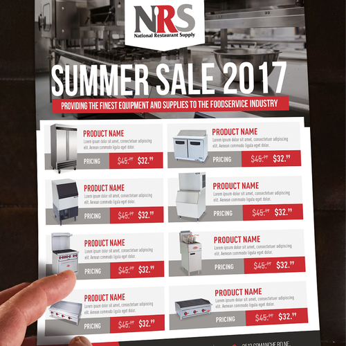 Flyer for NRS