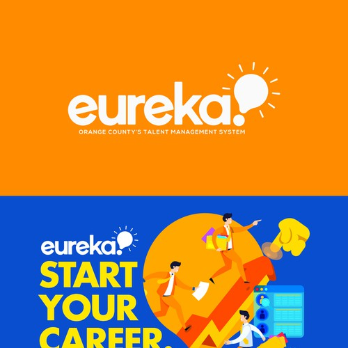 Eureka Logo a County Government - Learning Management System Logo